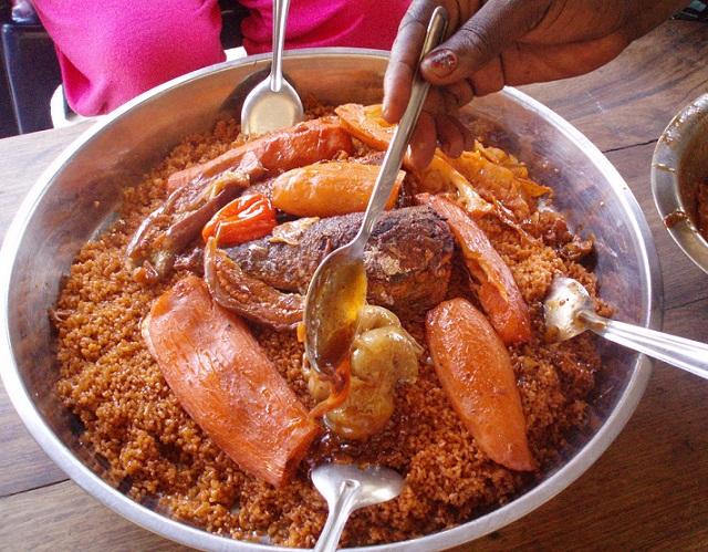 アフリカ飯 (セネガル編)